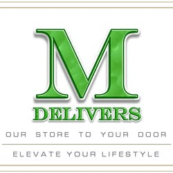 M Delivers marijuana dispensary menu
