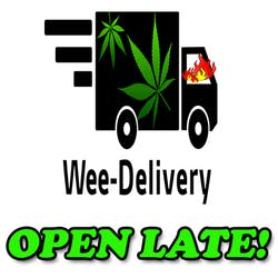 WeeDelivery marijuana dispensary menu