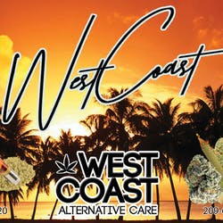 West Coast Alternative Care  Modesto marijuana dispensary menu
