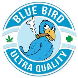 Blue Bird Delivery marijuana dispensary menu