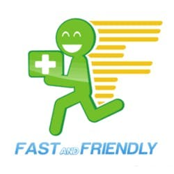 Fast And Friendly Delivery marijuana dispensary menu