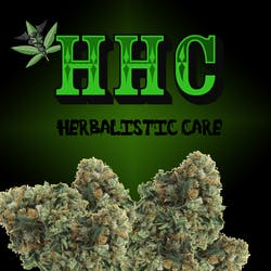 Herbalistic Care HHC marijuana dispensary menu