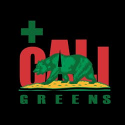 Cali Greens marijuana dispensary menu