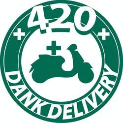 420 Dank Delivery marijuana dispensary menu