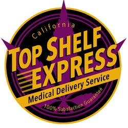TOP SHELF EXPRESS Medical marijuana dispensary menu