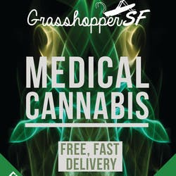 Grasshopper SF  SOMA marijuana dispensary menu