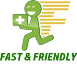 Fast and Friendly - (Open Late)-Vista
