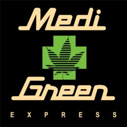 MediGreen Express marijuana dispensary menu