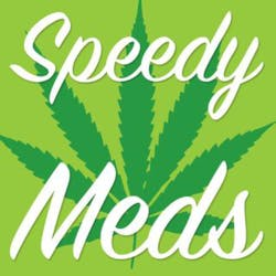 Speedy Meds marijuana dispensary menu