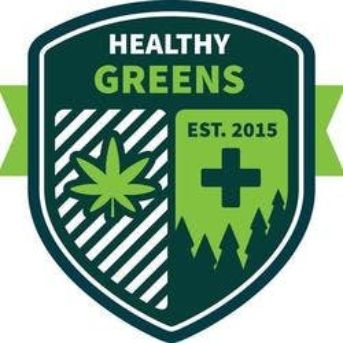 Healthy Greens marijuana dispensary menu