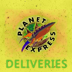 Planet Express Deliveries marijuana dispensary menu