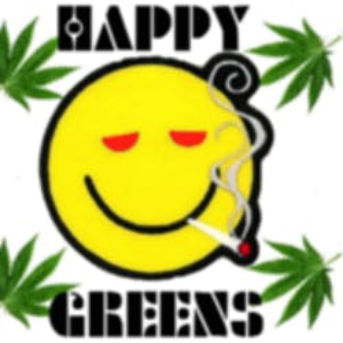 Happy Greens marijuana dispensary menu