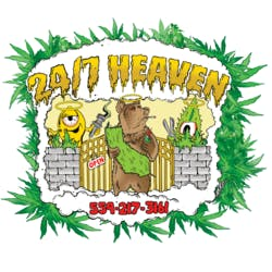247 Heaven marijuana dispensary menu