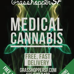 Grasshopper SF  Haight marijuana dispensary menu