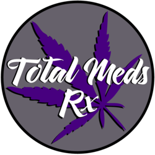 Total Meds RX marijuana dispensary menu