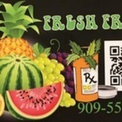 Fresh Fruits Medical marijuana dispensary menu