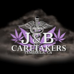 J and B Caretakers marijuana dispensary menu