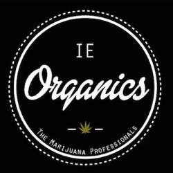 IE Organics marijuana dispensary menu