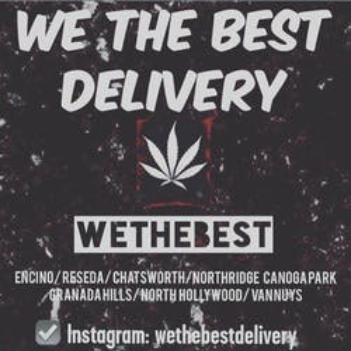 WE The Best Delivery marijuana dispensary menu