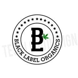 Black Label Organics marijuana dispensary menu