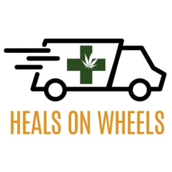 Heals ON Wheels marijuana dispensary menu