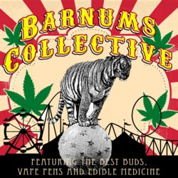 Barnums Collective marijuana dispensary menu