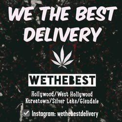 We The Best Delivery  West Hollywood Medical marijuana dispensary menu