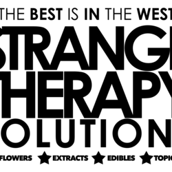 Strange Therapy Solutions marijuana dispensary menu