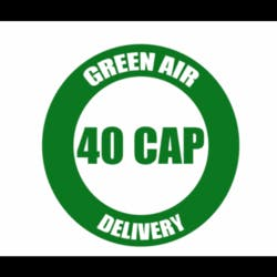 Green Air 40 Cap Delivery