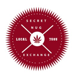 Secret Nug Exchange marijuana dispensary menu