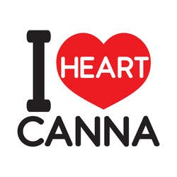 I Heart Canna marijuana dispensary menu