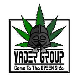 Vader Group marijuana dispensary menu