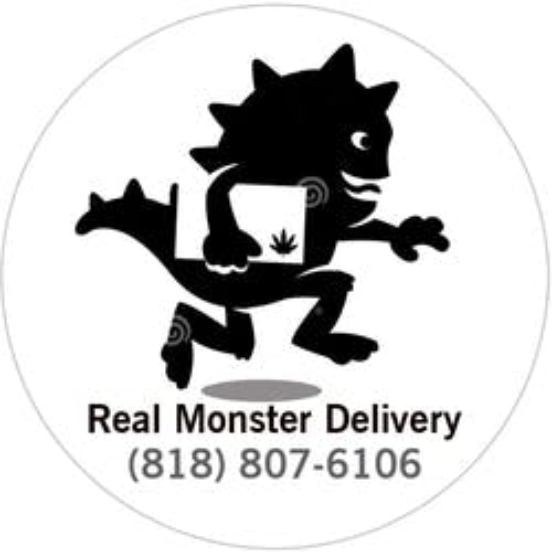 Real Monster Delivery marijuana dispensary menu