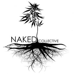 Naked Collective marijuana dispensary menu