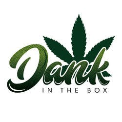 Dank in the Box marijuana dispensary menu