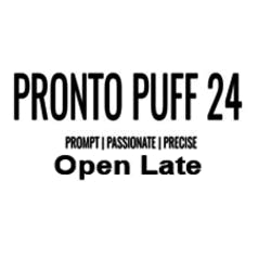 Pronto Puff marijuana dispensary menu