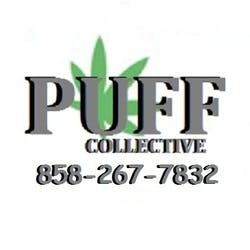 Puff Collective marijuana dispensary menu