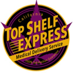 Top Shelf Express marijuana dispensary menu