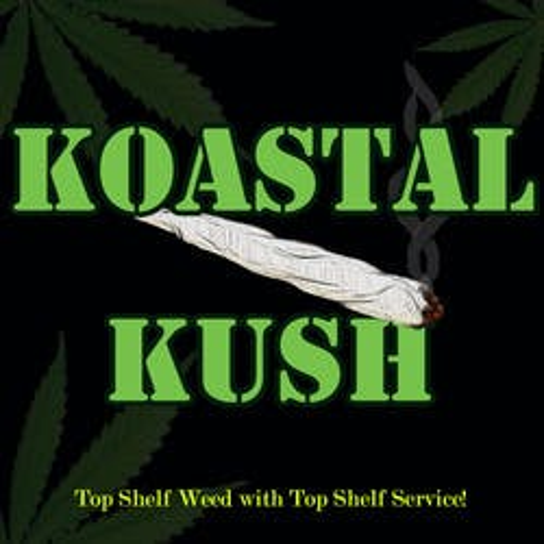Koastal Kush Delivery marijuana dispensary menu