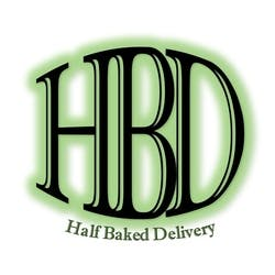 Half Baked Delivery marijuana dispensary menu