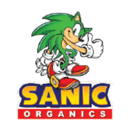 Sanic Organics marijuana dispensary menu
