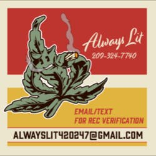 Always Lit Medicinal marijuana dispensary menu