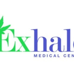 Exhale Store marijuana dispensary menu