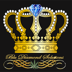 Blu Diamond Solutions marijuana dispensary menu