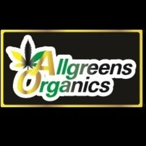 Allgreens Organics marijuana dispensary menu