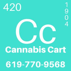 Cannabis Cart marijuana dispensary menu