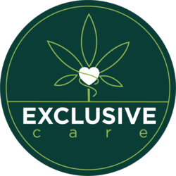 Exclusive Care marijuana dispensary menu