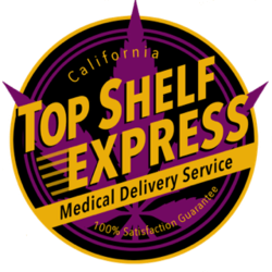 Shelf Express Medical marijuana dispensary menu
