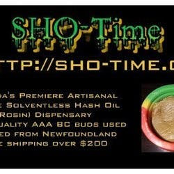 Shotime Rosin Dispensary marijuana dispensary menu