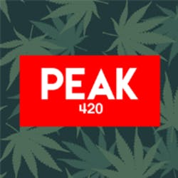 Peak 420 marijuana dispensary menu